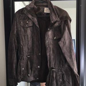 Jackets & Blazers - Brown black light coat